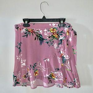 Dresses & Skirts - Purple Wrap Tie Skirt